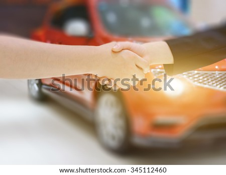 Sales of cars - stock photo