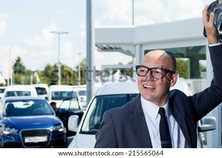 Salesman - stock photo