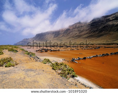 Salinas del Rio, Lanzarote, Canary Islands, Spain