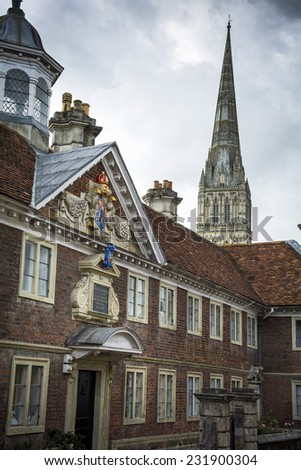 Salisbury - stock photo