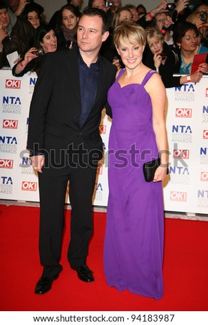 Sally Dynevor arriving for the National Television Awards, O2, London. 25/01/2012 Picture by: Alexandra Glen / Featureflash