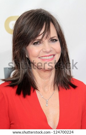Sally Field at the 18th Annual Critics' Choice Movie Awards Arrivals, Barker Hangar, Santa Monica, CA 01-10-13