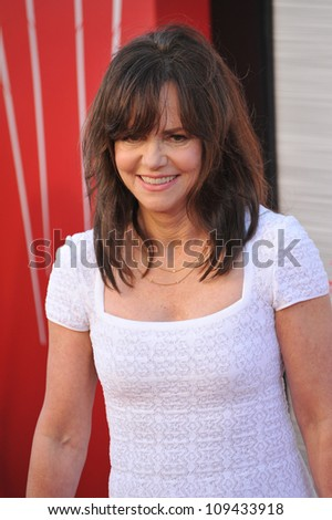 "Sally Field at the world premiere of her movie ""The Amazing Spider-Man"" at Regency Village Theatre, Westwood. June 29, 2012  Los Angeles, CA Picture: Paul Smith / Featureflash - stock photo"