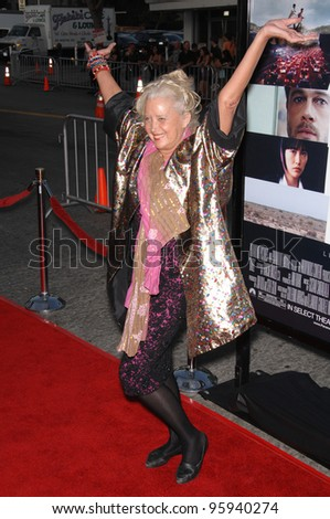 "SALLY KIRKLAND at the Los Angeles premiere of ""Babel"". November 5, 2006  Los Angeles, CA Picture: Paul Smith / Featureflash"
