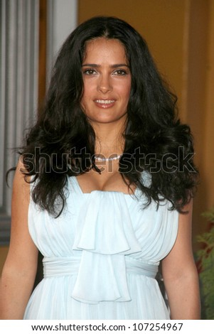 "Salma Hayek  at the Los Angeles Premiere of ""Vicky Cristina Barcelona"". Mann Village Theatre, Westwood, CA. 08-04-08"
