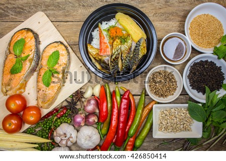 Stock images royalty free images vectors shutterstock for Rice dishes with fish