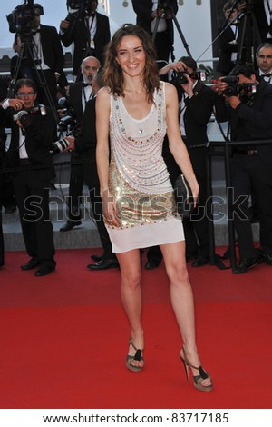 "Salome Stevenin at the premiere for ""Fair Game"" which is in competition at the 63rd Festival de Cannes. May 20, 2010  Cannes, France Picture: Paul Smith / Featureflash"