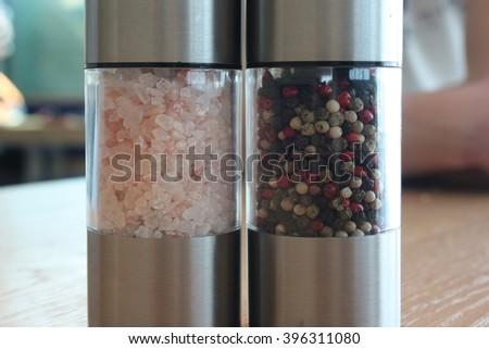 Salt and pepper mix.