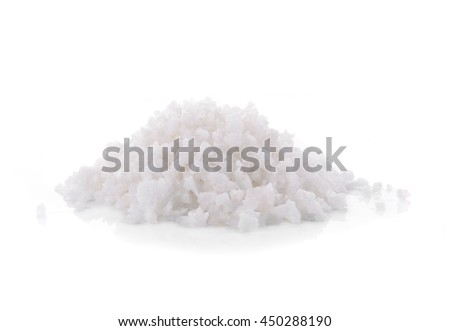 Salt isolated on white