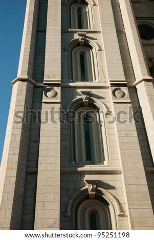 Salt Lake LDS temple - stock photo