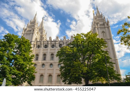 Salt Lake (Mormon) Temple