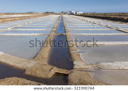 Salt Pans, Tavira, Algarve, Portugal