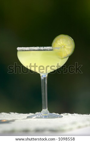 Salted Margarita with Lime
