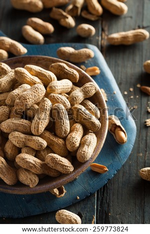 Salted Roasted Shelled Peanuts Ready to Eat