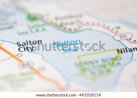 Salton City Stock Images RoyaltyFree Images Vectors Shutterstock - Salton sea on us map