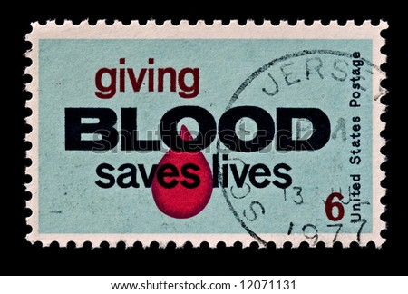 Salute to blood donors and spur to increased participation in the blood donor program.