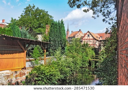 Salzwedel - stock photo