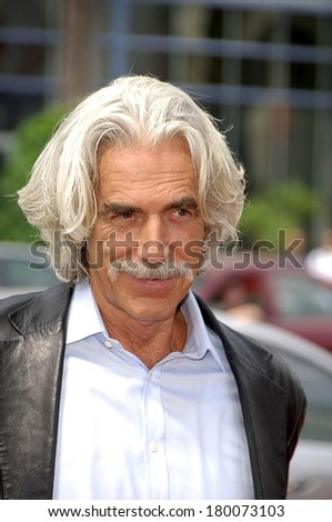 Sam Elliott at THE BARNYARD Premiere, The Arclight Hollywood Cinema, Los Angeles, CA, July 29, 2006