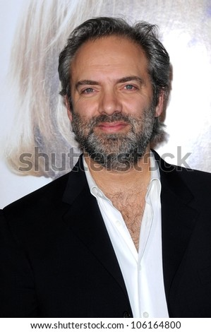 Sam Mendes   at the World Premiere of 'Revolutionary Road'. Mann Village Theater, Westwood, CA. 12-15-08