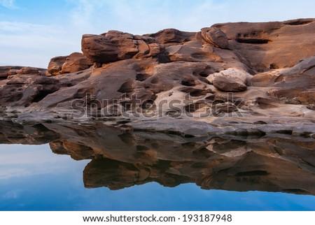 Sam pan bok grand canyon, Ubon Ratchathani, Thailand - stock photo
