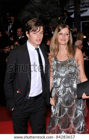 "Sam Riley and juror Alexandra Maria Lara at the gala premiere of ""Changeling"" at the 61st Annual International Film Festival de Cannes. May 20, 2008  Cannes, France. Picture: Paul Smith / Featureflash"