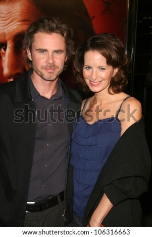 Sam Trammell and Missy Yager  at the 3rd Season Premiere of 'Big Love'. The Cinerama Dome, Hollywood, CA. 01-14-09