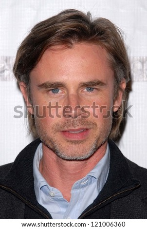 "Sam Trammell at the ""Certainty"" Los Angeles Premiere, Laemmle Music Hall, Beverly Hills, CA 11-27-12"