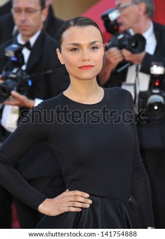 "Samantha Barks at the gala premiere of ""The Past"" (Le Pass) in competition at the 66th Festival de Cannes. May 17, 2013  Cannes, France"