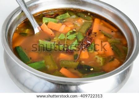 Sambar Vegetables Fotografie, snímky pro členy zdarma a vektory