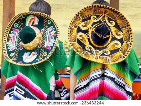 Sambrero Mexican - stock photo
