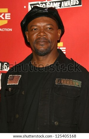 Samuel L. Jackson at Spike TV's 2006 Video Game Awards. The Galen Center, Los Angeles, California. December 8, 2006. - stock photo