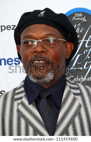 Samuel L. Jackson at The 28th Annual Gift Of Life Tribute Celebration by the National Kidney Foundation of Southern California. Warner Bros. Studios, Burbank, CA. 04-29-07 - stock photo