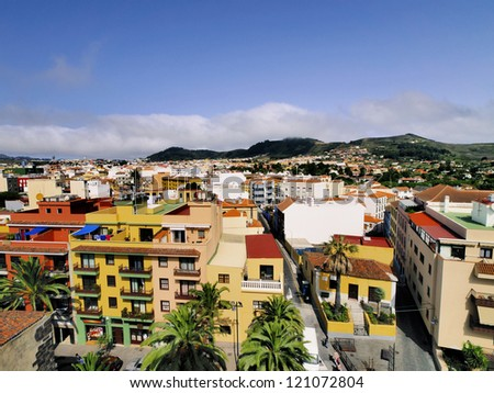 San Cristobal de la Laguna, Tenerife, Canary Islands - stock photo