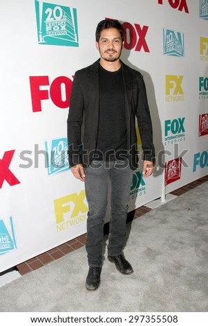 SAN DIEGO, CA - JULY 10: Nicholas Gonzalez arrives at the 20th Century Fox/FX Comic Con party at the Andez hotel on July 10, 2015 in San Diego, CA. - stock photo