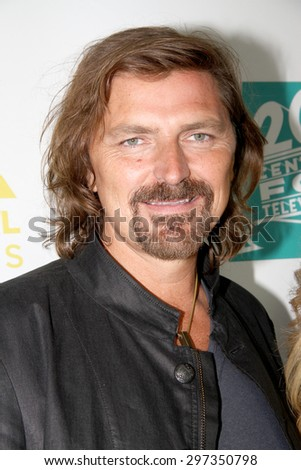 SAN DIEGO, CA - JULY 10: Robin Atkin Downes arrives at the 20th Century Fox/FX Comic Con party at the Andez hotel on July 10, 2015 in San Diego, CA. - stock photo