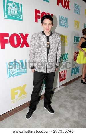 SAN DIEGO, CA - JULY 10: Robin Lord Taylor arrives at the 20th Century Fox/FX Comic Con party at the Andez hotel on July 10, 2015 in San Diego, CA. - stock photo