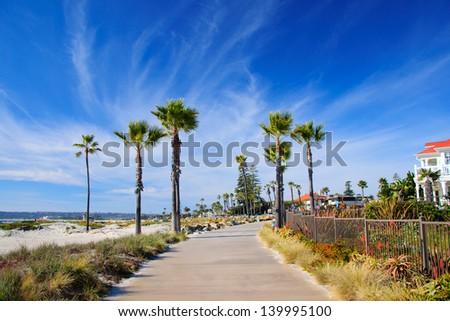 San Diego California - stock photo