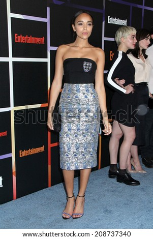SAN DIEGO - JUL 26:  Ashley Madekwe at the Emtertainment Weekly Party - Comic-Con International 2014 at the Float at Hard Rock Hotel San Diego on July 26, 2014 in San Diego, CA - stock photo