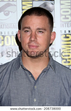 "SAN DIEGO - JUL 25:  Channing Tatum at the ""Bates Motel"" Press Line - Comic-Con International 2014 at the Hilton San Diego Bayfront on July 25, 2014 in San Diego, CA"
