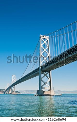 San Francisco Bay Bridge, California,USA - stock photo