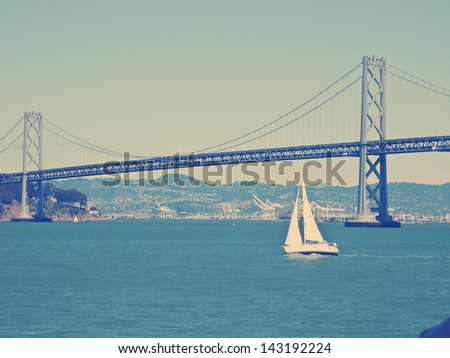 San Francisco bridge - stock photo