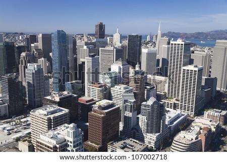 San Francisco Downtown, California - stock photo