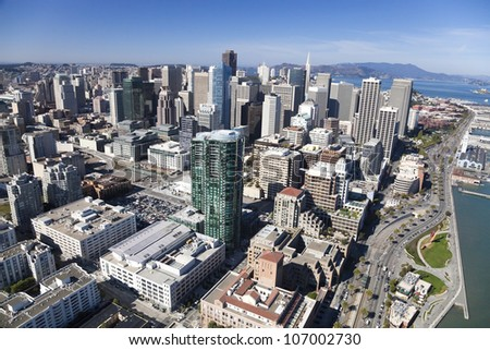 San Francisco Downtown, California - stock photo