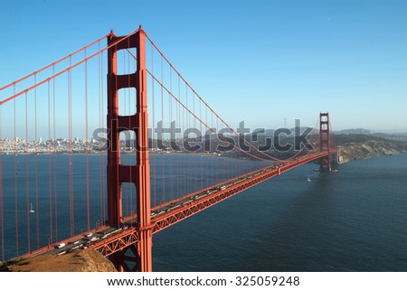 San Francisco Golden Gate Bridge, San Francisco, CA, USA