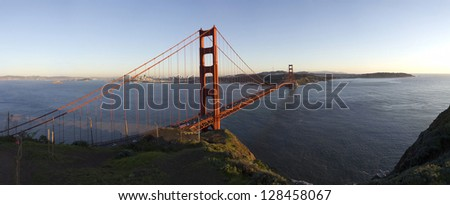 San Francisco Golden Gate: Ultra high resolution panorama