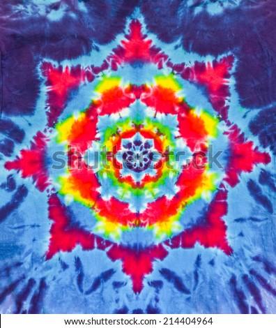 San Francisco Tie Dye Design and Pattern - stock photo