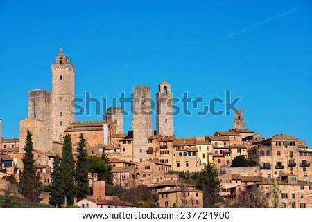 San Gimignano - stock photo