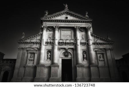San Giorgio Church, Venice - stock photo