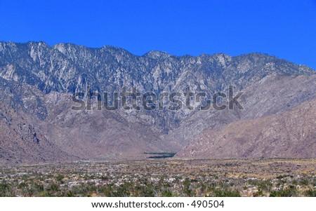 San Jacinto - stock photo