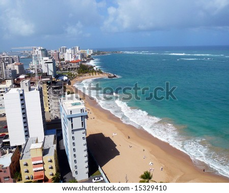 San Juan Puerto Rico - stock photo